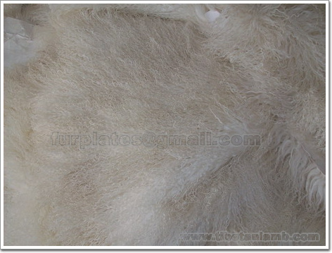 mongolian lamb throw rugs